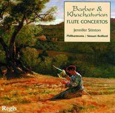 BARBER & KHACHATURIAN Flute Concertos